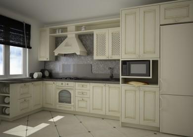 Кухня «Урбан» в квартире, Минск